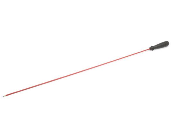 Putzstock Langwaffe dia. 5 mm mit Kunststoffgriff